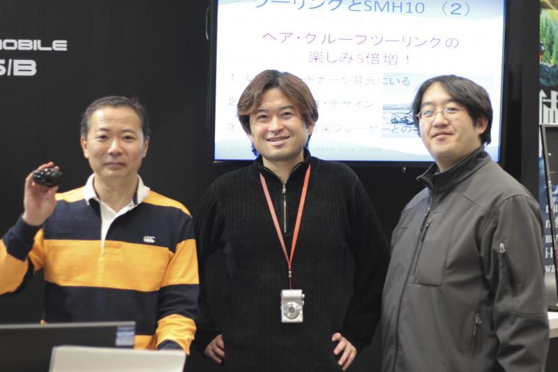 石田さんとクラブメンバー