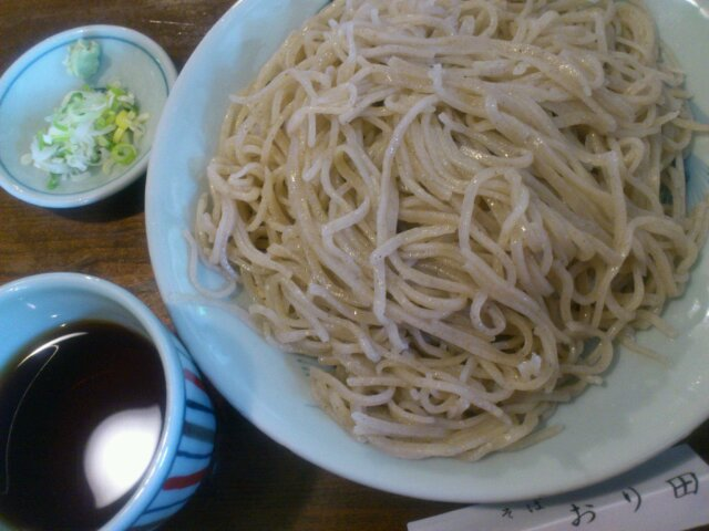 蕎麦ランチ
