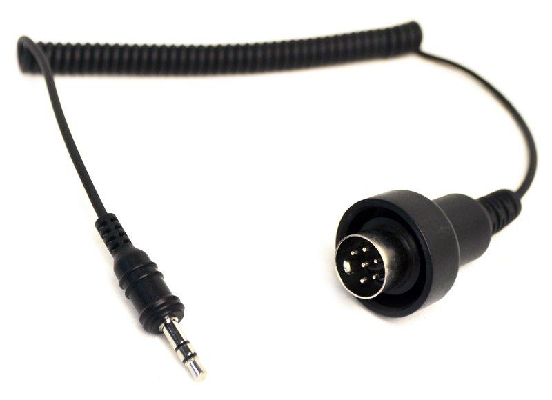 SC-A0124 SM10専用 オーディオシステム用 3.5mmステレオジャック-6ピンDIN