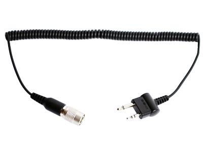 SC-A0117 SR10専用 ICOM及びMidland用 2ピン変換ケーブル (ストレート)