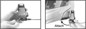 同梱されているSMH-A0201 メインユニット取付用貼付アダプターを使う