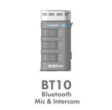 BT10:胸元にもクリップできるハンディタイプ 両手が使えて4人同時に会話。
