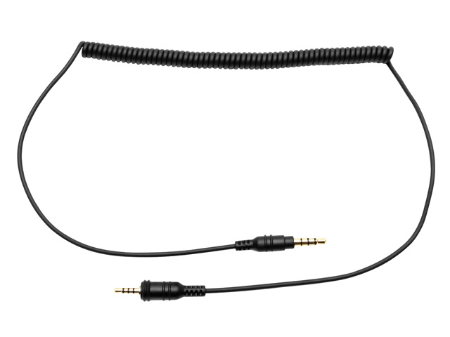 SC-A0129 2.5mmオス to 3.5mmオス変換 4極Aux ケーブル
