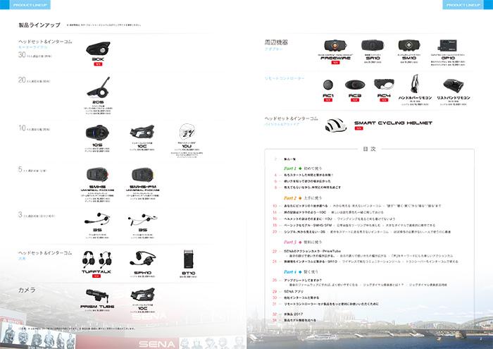 【2】目次・製品ラインアップ