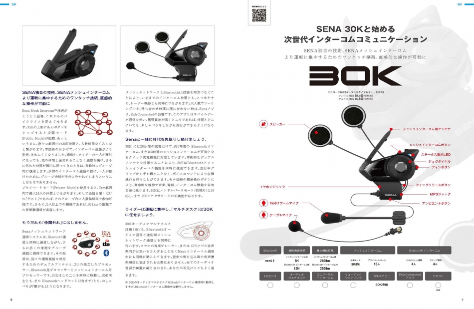 【5:30K】SENA 30Kと始める次世代インターコムコミュニケーション