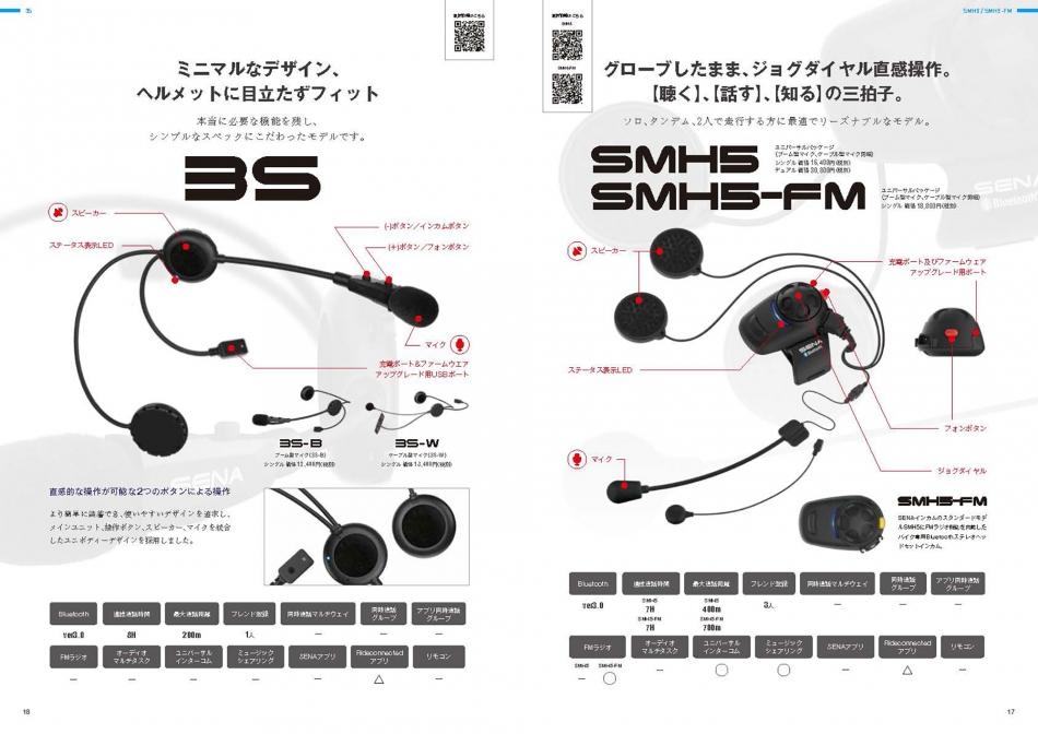 【10:SMH5/SMH5-FM/3S】グローブしたまま、ジョグダイヤル直感操作。【聴く】、【話す】、【知る】の三拍子。