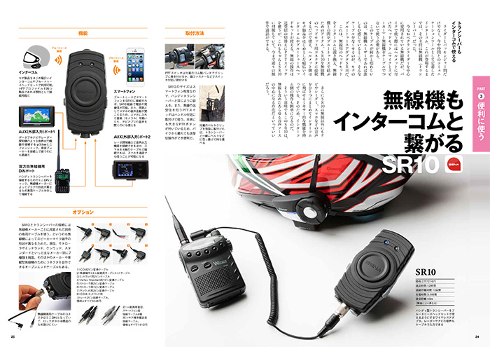 【13】無線機もインターコムと繋がる。SR10。