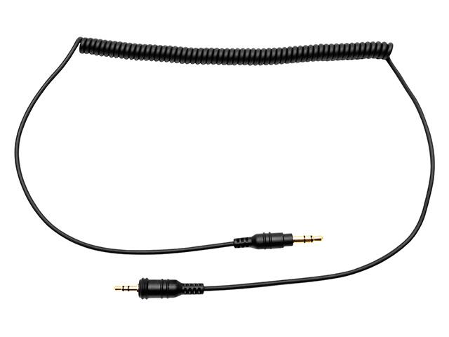 ステレオオーディオ接続用ケーブル(ストレート)2.5mm-3.5mm