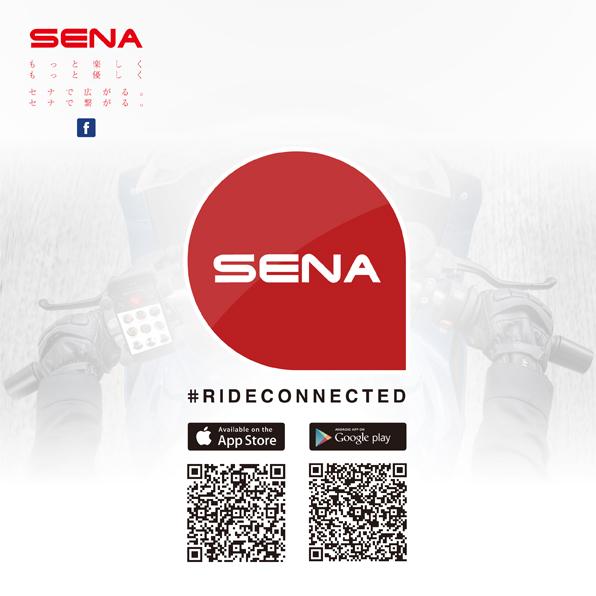 2017年5月号「#RIDECONNECTEDアプリ(iOS,Android)/セナ・ブルートゥースジャパン公式Facebookページ開設!」