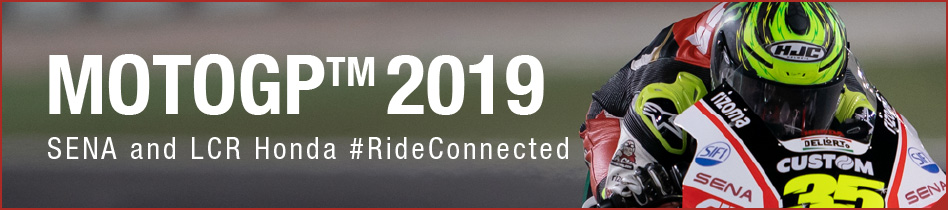 MOTOGP 2019 SENA and LCR Honda #RideConnected