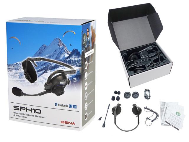 SPH10-10 Bluetooth ヘッドセットインターコム(耳掛けタイプ)